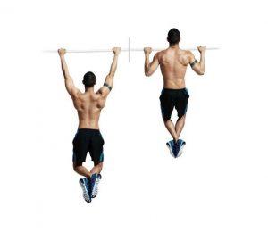 entrenamiento funcional dominadas espalda