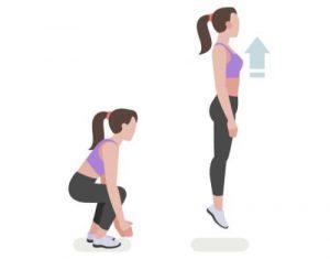 entrenamiento funcional sentadillas con salto