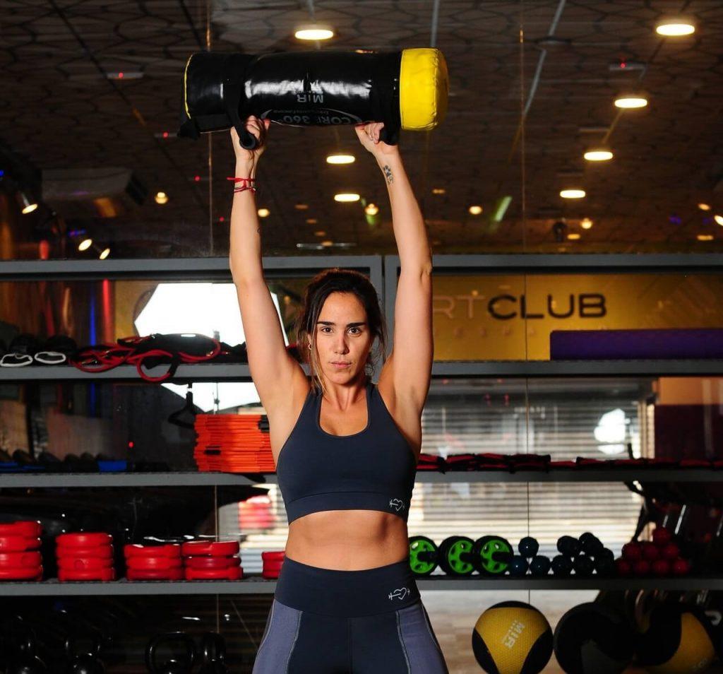 Utiliza el powerbag para añadir variedad a tus entrenamientos