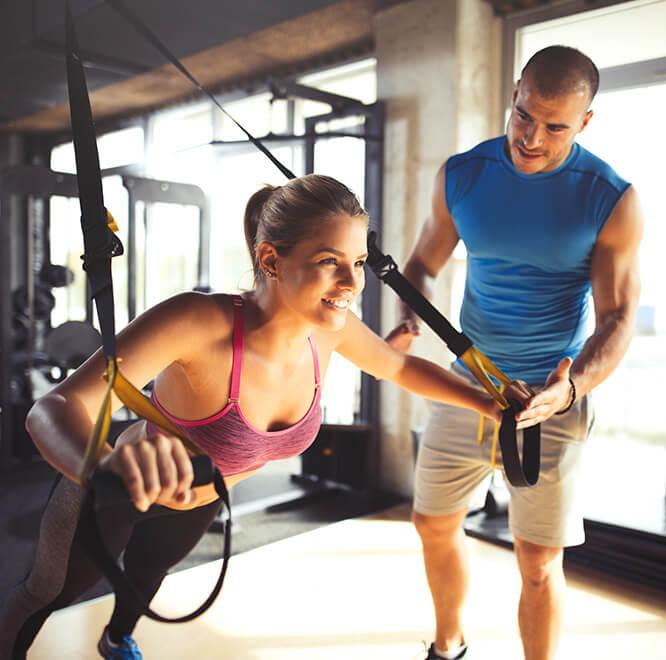 El entrenamiento en suspensión para mejorar el rendimiento en un deporte