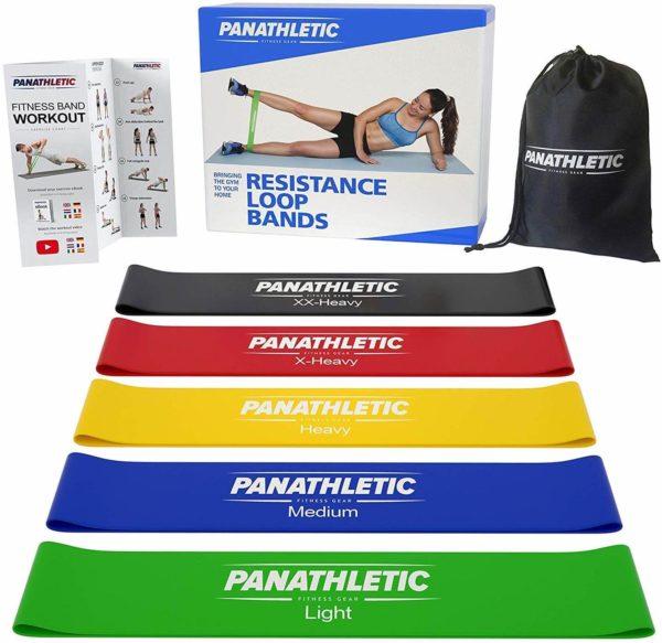 bandas elasticas fitness - cintas elásticas de resistencia con guía de ejercicios