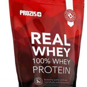 Prozis 100% Real Whey Protein, Suplemento Puro en Polvo con un Perfil Completo de Aminoácidos y Rico en BCAA