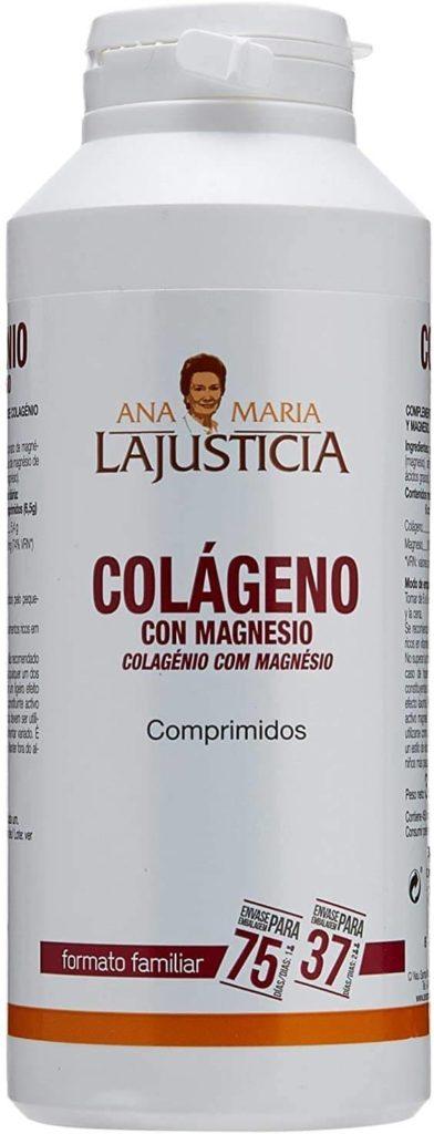 Ana Maria Lajusticia - Colágeno con magnesio - 450 comprimidos articulaciones fuertes y piel tersa.