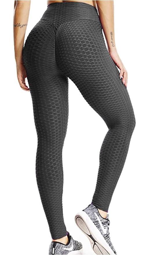 FITTOO Mallas Pantalones Deportivos Leggings Mujer Yoga de Alta Cintura Elásticos y Transpirables para Yoga Running Fitness