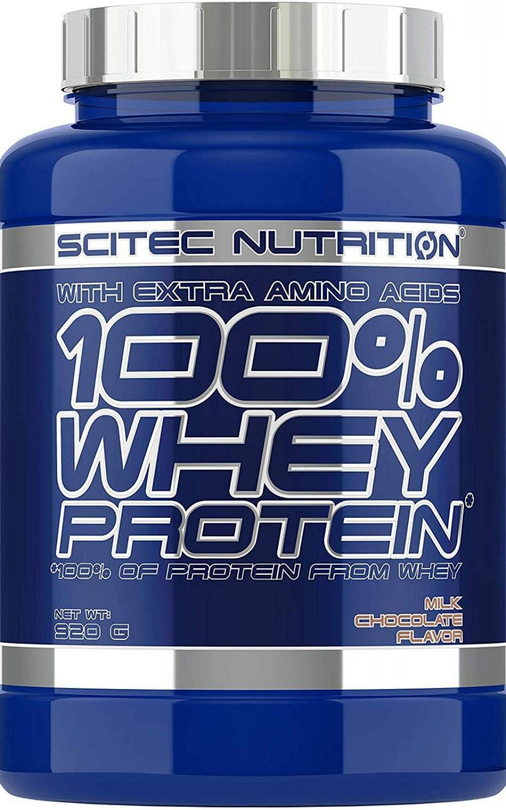 Scitec Nutrition Whey Protein Proteína, Chocolate con Leche - 920 g